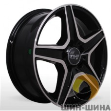 "Диск Replica 16"" 5*112 6,5 Et30 D66,6 WR-274 BP (MB)"