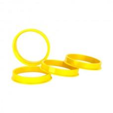Адаптер 67,1*54,1 жёлтый