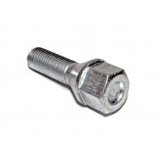 Болт конус 12х1,25х28 L51 цинк, ключ 17 (JN-801-2)