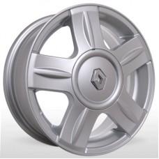 """Диск Replica 14"""" 4*100 5,5 Et43 D60,1 BKR-060 Silv (Renault)"""
