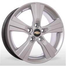 """Диск Replica 15"""" 5*105 6,5 Et39 D56,6 YQR-M019 HS (Chevrolet)"""