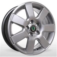 "Диск Replica 15"" 5*100 6,0 Et43 D57,1 YQR-153 HS (VW,Skoda)"