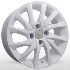 """Диск Replica 16"""" 4*108 6,5 Et26 D65,1 YQR-M014 White (Citroen,Peugeot)"""