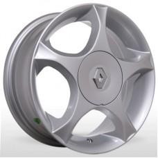 """Диск Replica 14"""" 4*100 5,5 Et43 D60,1 BKR-079 Silv (Renault)"""