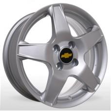 "Диск Replica 15"" 4*100 6,0 Et45 D56,6 SLR-208 Silv (Chevrolet)"