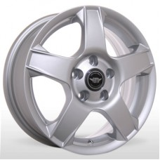 "Диск Replica 14"" 4*100 5,5 Et45 D56,6 BKR-630 Silv (Chevrolet)"