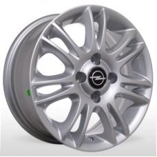 "Диск Replica 14"" 4*100 6,0 Et41 D56,6 BKR-153 Silv (Opel,Chevrolet)"