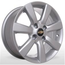 "Диск Replica 15"" 4*114,3 6,5 Et38 D56,6 BKR-458 Silv (Chevrolet)"