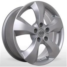 """Диск Replica 17"""" 5*114,3 6,5 Et40 D66 YQR-061 Silv (Nissan,Renault)"""