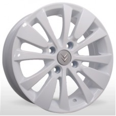 """Диск Replica 15"""" 4*108 6,0 Et27 D65,1 YQR-M015 White (Citroen,Peugeot)"""
