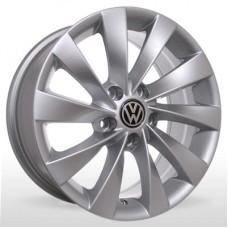"Диск Replica 15"" 5*112 6,5 Et45 D57,1 BKR-438 Silv (VW,Skoda)"