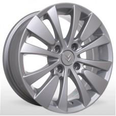 "Диск Replica 15"" 4*108 6,0 Et27 D65,1 YQR-015 Silv (Citroen,Peugeot)"