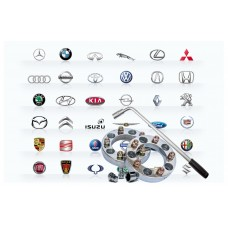 Вентили, Проставки, Ключи, Логотипы