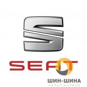 Логотип Seat gray алюм. d56,5 mm