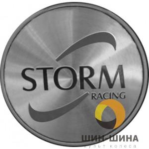 Логотип STORM алюм. (Black&Red) d55 mm к крышкам C-850 и C-888